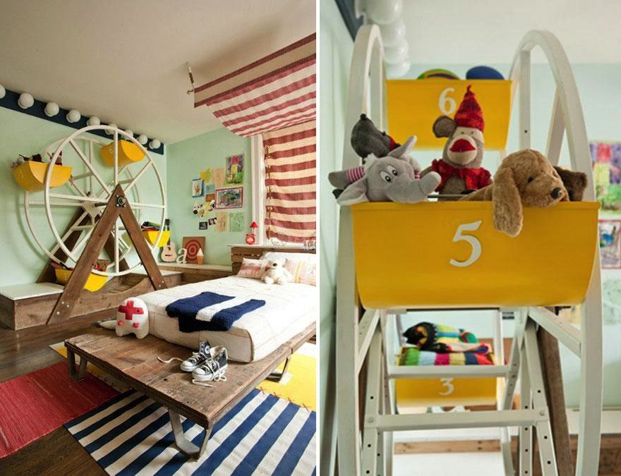 22 kreative ideen wie man kinderzimmer in imperien. Black Bedroom Furniture Sets. Home Design Ideas