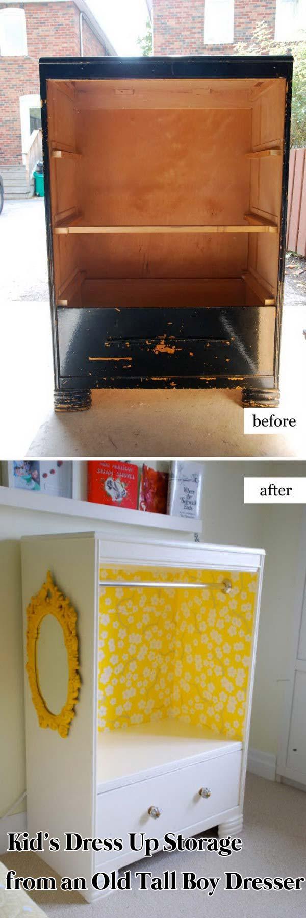 Alte Möbel umbauen und neu gestalten: 9 coole Inspirationen