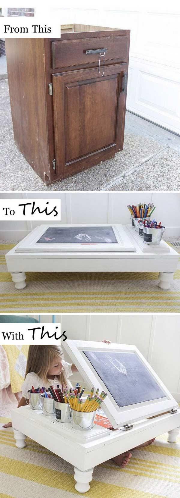 alte m bel umbauen und neu gestalten 26 coole. Black Bedroom Furniture Sets. Home Design Ideas