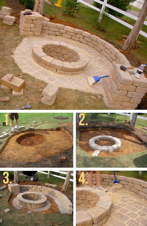 Außergewöhnlich Eigene Feuerstelle im Garten bauen: 27 coole Projekte zum @FP_58