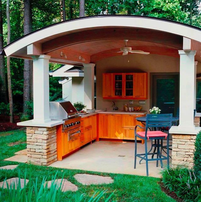 Ideen Für Outdoor-Küchen