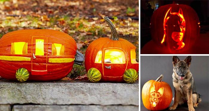 Kürbis Schnitzen Ideen.Halloween Kürbis Schnitzen 13 Coole Ideen Cooletipps De