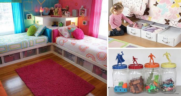 25 DIY-Ideen für die Spielzeugaufbewahrung im Kinderzimmer, die alle ...