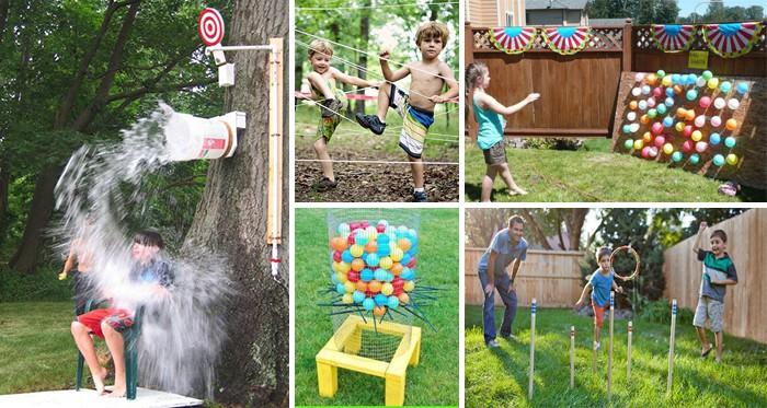 25 Coole Ideen Um Kinder Im Sommer Mit Verschiedenen Spielen Zu