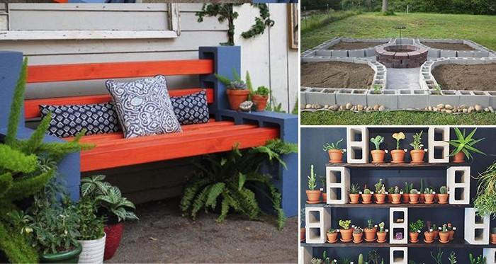 24 Coole Ideen Um Betonsteine Im Garten Oder Haushalt Zu