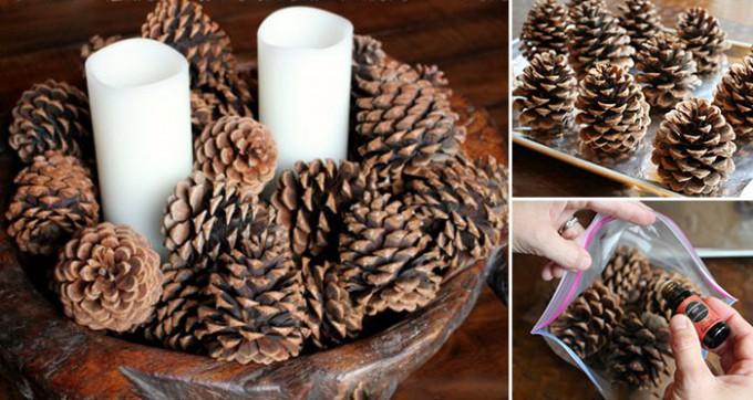 weihnachtsdeko duftende zimt zapfen selber machen. Black Bedroom Furniture Sets. Home Design Ideas