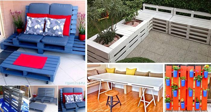 35 simple und praktische diy ideen f r paletten objekte die jeder bauen kann. Black Bedroom Furniture Sets. Home Design Ideas