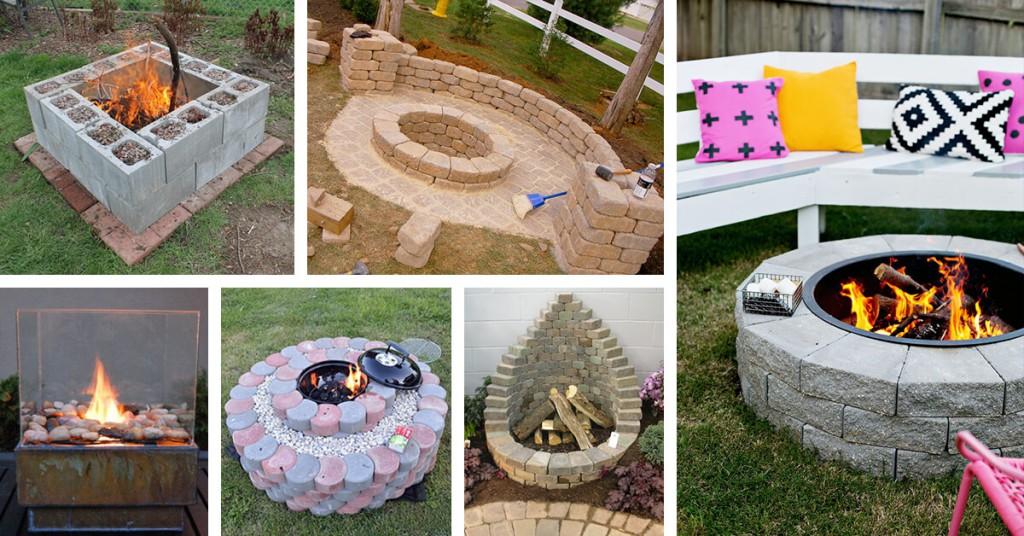 Eigene Feuerstelle im Garten bauen: 27 coole Projekte zum ...