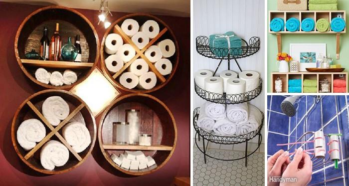 25 faszinierende DIY-Ideen, um Dinge im Badezimmer zu ...