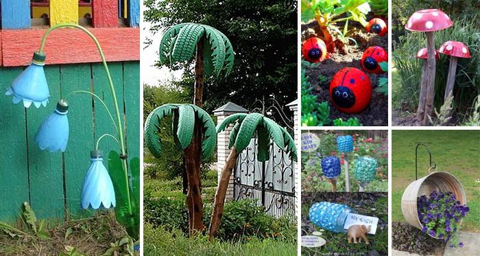 34 Einfache Und Preiswerte Diy Ideen Um Den Garten Und Hof Zu